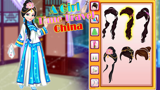 A Girl Time Travel China