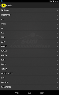 Sun Live TV- screenshot thumbnail