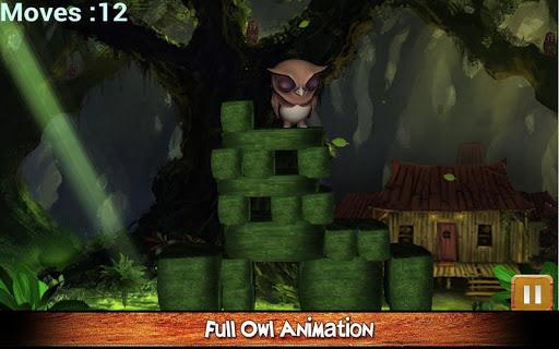 【免費解謎App】叢林貓頭鷹挑戰3D-APP點子
