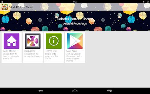 免費個人化App|Colorful Pattern Theme|阿達玩APP