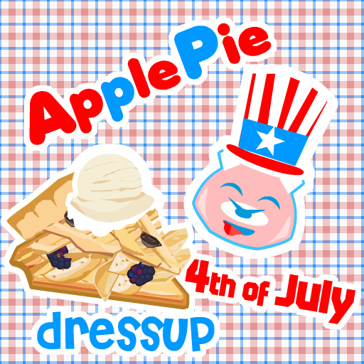 Apple Pie 4th of July Dressup