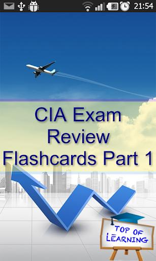 CIA Exam Review 300 Flashcards