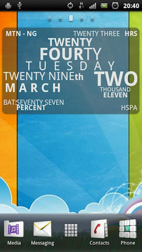 Clock 29 Widgets- screenshot
