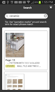 American Olean Product Catalog - screenshot thumbnail