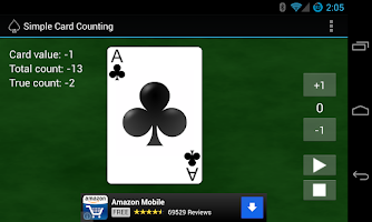 Screenshot of Simple Card Counting