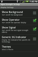 Screenshot of Signal Strength Widget (Pro)