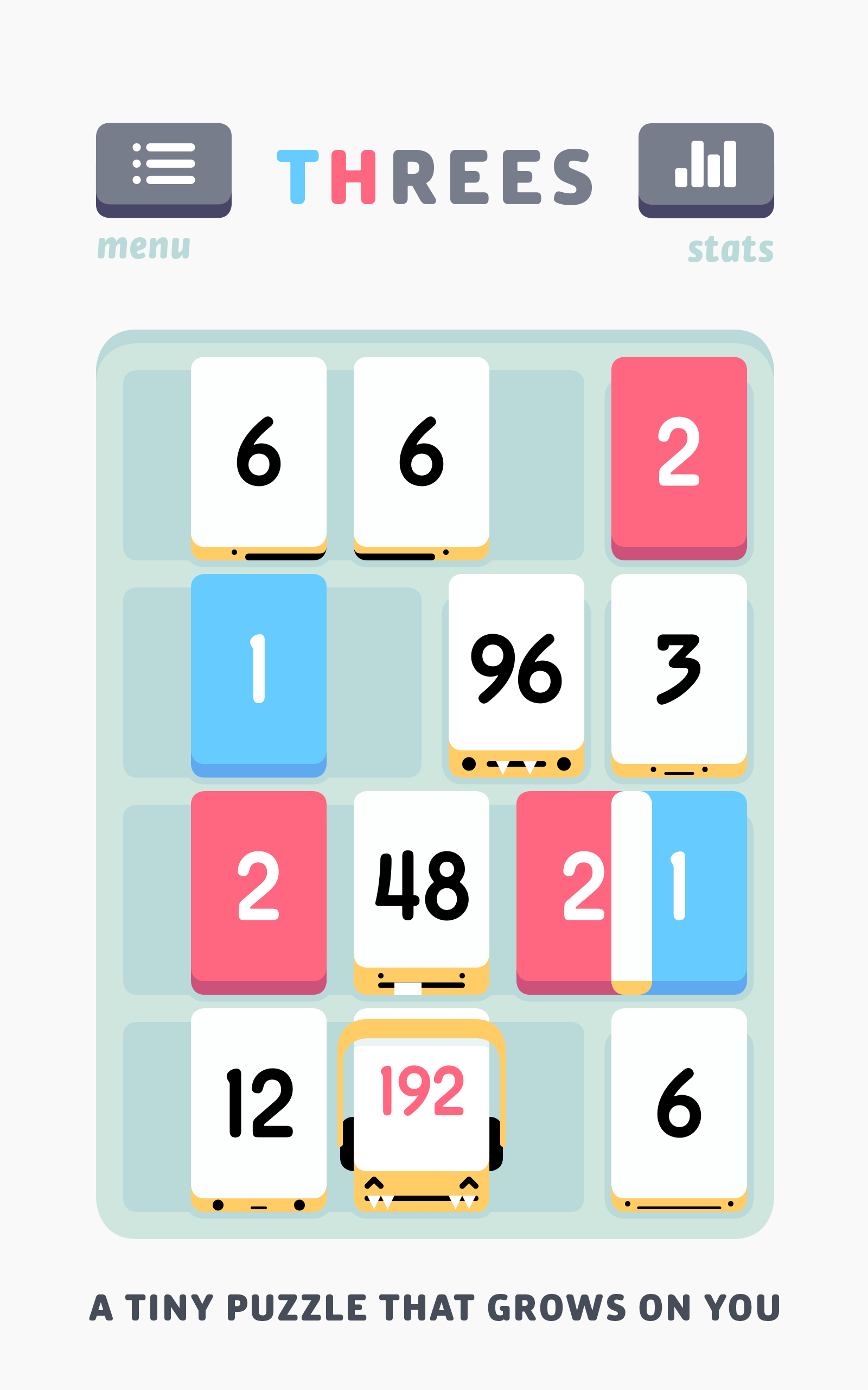 Threes! screenshot #6