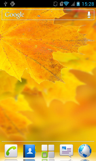 Autumn scenery Live Wallpaper