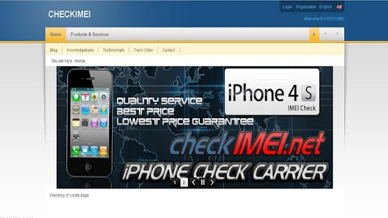 CheckImei - Find your Carrier! - screenshot thumbnail