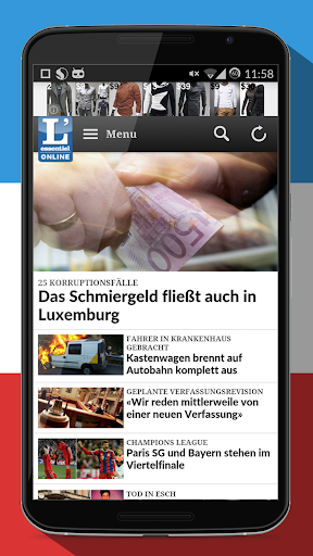 Newspapers Luxembourg free