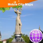 Konstanz Street Map