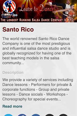 Santo Rico Dance
