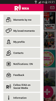 Screenshot of RIXA - Photo Sound Voice Music