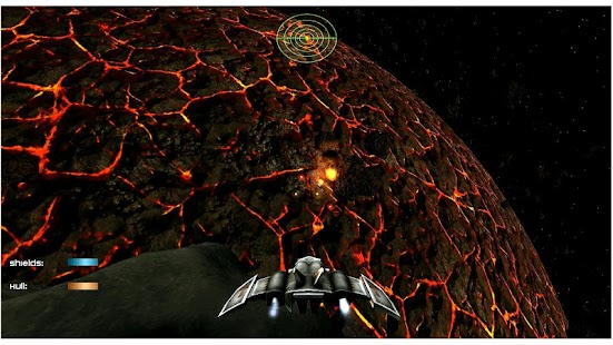 Dawn Earth Space Shooter Screenshot 5