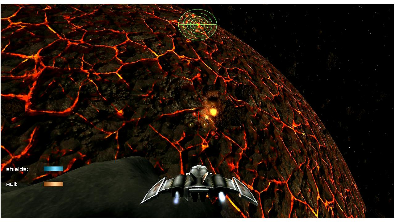 Dawn Earth Space Shooter- screenshot
