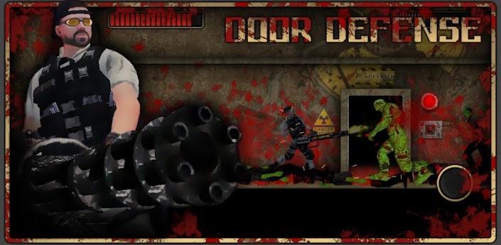 Door defense: Zombie attack - защитите дверь от атаки Зомби