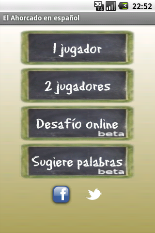 Hangman Spanish Classic- screenshot