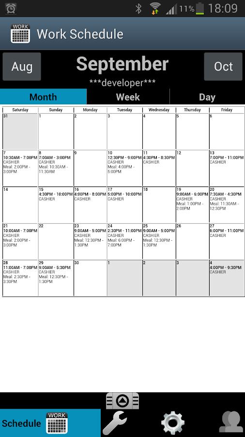 Walmart Workplace Online Scheduling