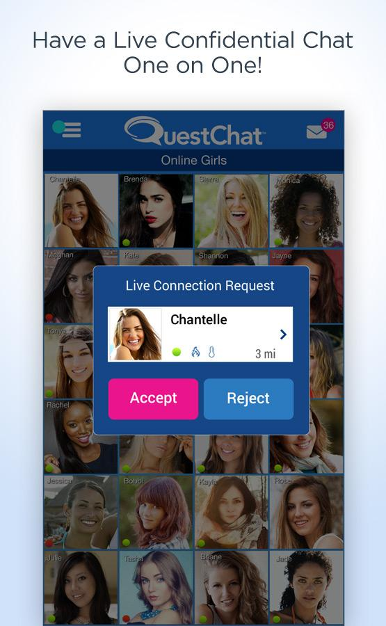 Quest Chat - screenshot