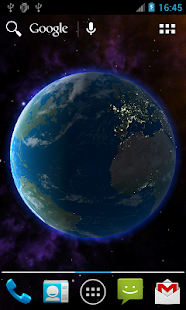 Planets 3D Live Wallpaper - screenshot thumbnail