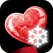 Heart and Snowflake