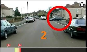 Screenshot of Hazard Perception Test Lite