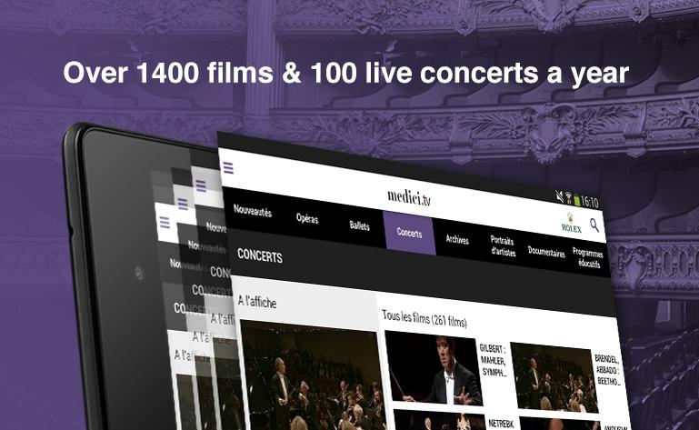 medici.tv - Classical music- screenshot