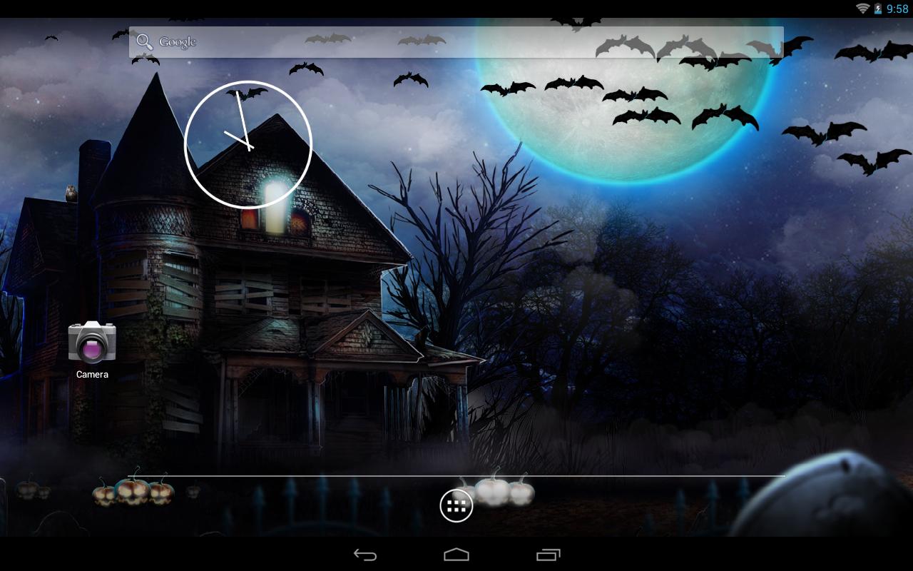halloween live wallpaper screenshot - Halloween Wallpaper Download