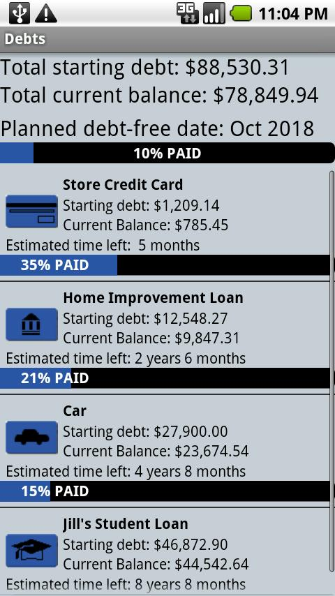 Pay Off Debt - screenshot
