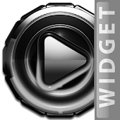 Poweramp skin widget White G.