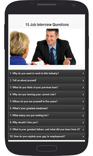 15 Job Interview Questions