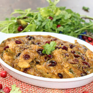 Cranberry Curry Chicken.