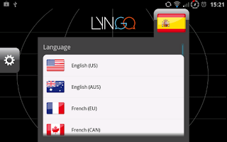 Screenshot of Lyngo voice translator