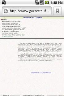 Concorsi Gazzetta Ufficiale - screenshot thumbnail