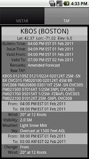 Aviation Weather - GADSoftware - screenshot thumbnail