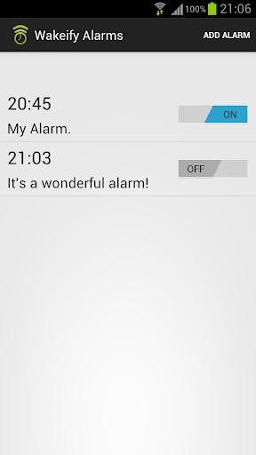 Wakeify - Spotify Alarm