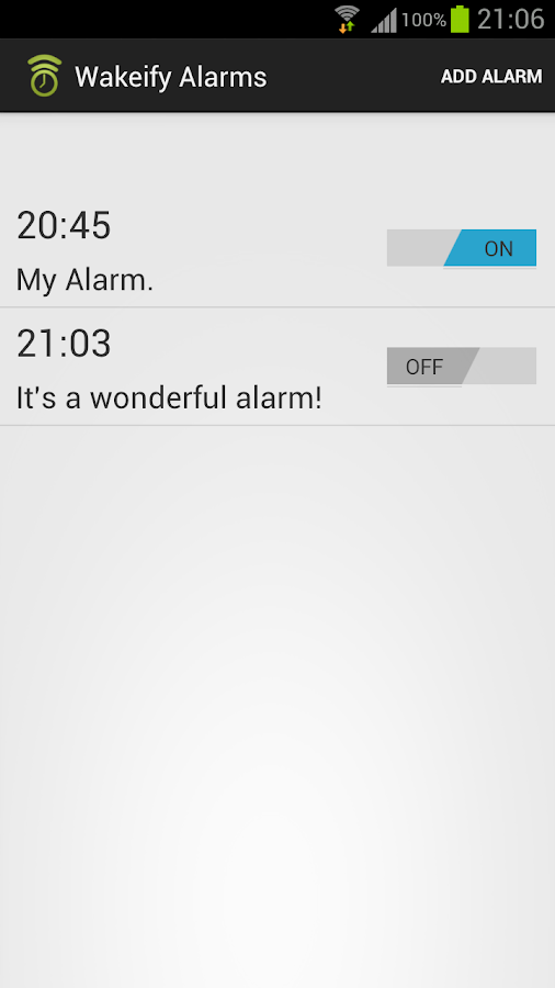 Wakeify - Spotify Alarm - screenshot