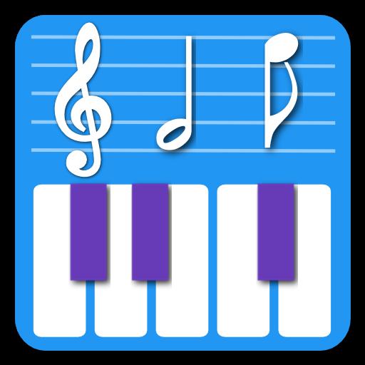 Act Piano: 钢琴音符五线谱演示与练习 音樂 App LOGO-硬是要APP