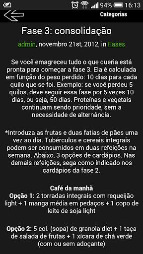 Regime dukan brazil