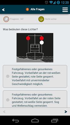SBF-Fragen | See, Binnen, Funk - screenshot