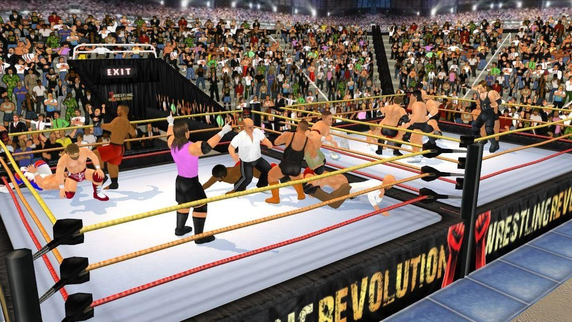 Wrestling Revolution 3D- screenshot