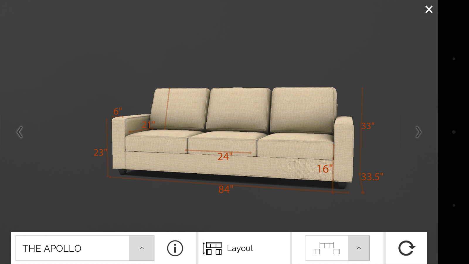 Living Spaces by UL (Sofa App) - Android Apps on Google Play