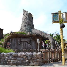 Shrek's Swamp by Abbie Pearsall - Buildings & Architecture Homes ( dreamworks, fiona, singapore, shrek, swamp )