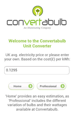 Convertabulb Calculator