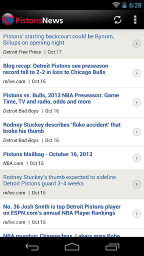 Detroit Basketball News for PC