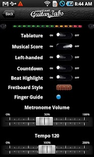 Pocket Jamz Guitar Tabs- screenshot thumbnail