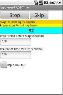 Appleseed AQT Timer - screenshot thumbnail