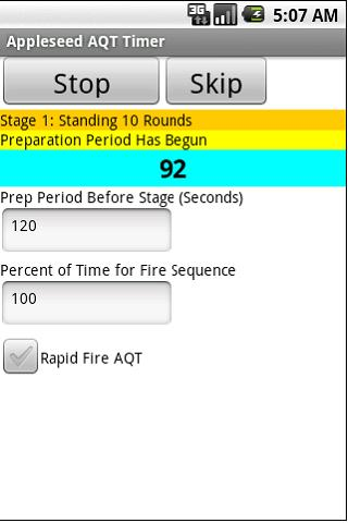Appleseed AQT Timer - screenshot