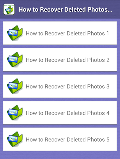Easy Photo Recovery Guide