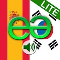 Spanish to Korean Lite logo